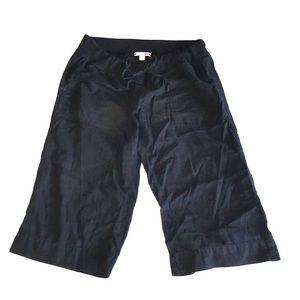 James Perse Malibu crop pants Size M(2) in Black